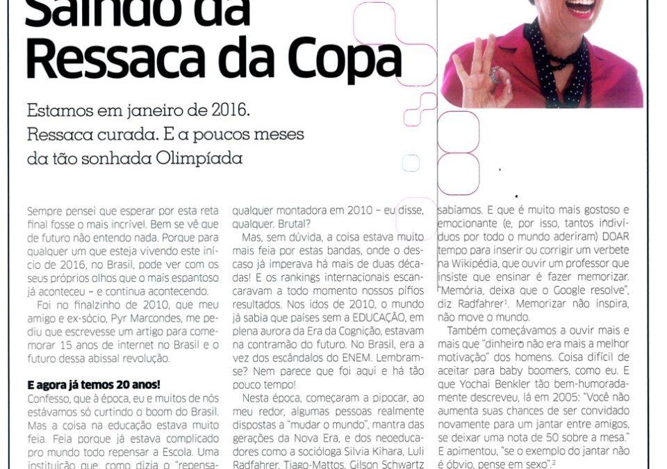 Artigo Saindo da Ressaca da Copa
