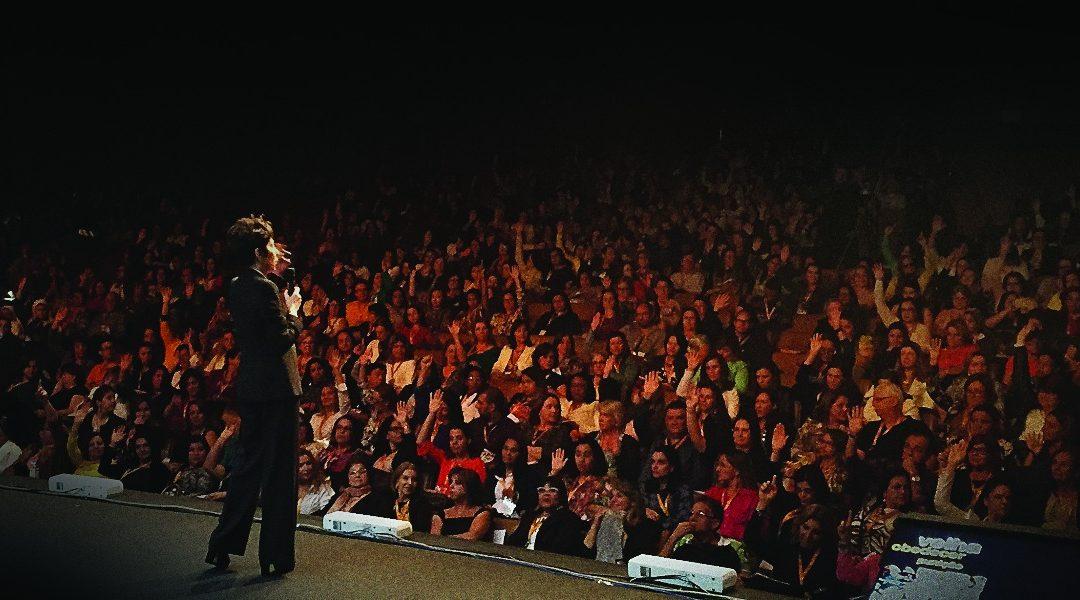 Palestra para Kroton Educacional, plateia com mais de 1000 pax, Belo Horizonte.