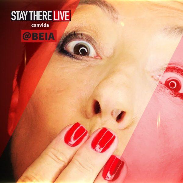 Beia Carvalho é a convidada no Stay There Live deste mês!