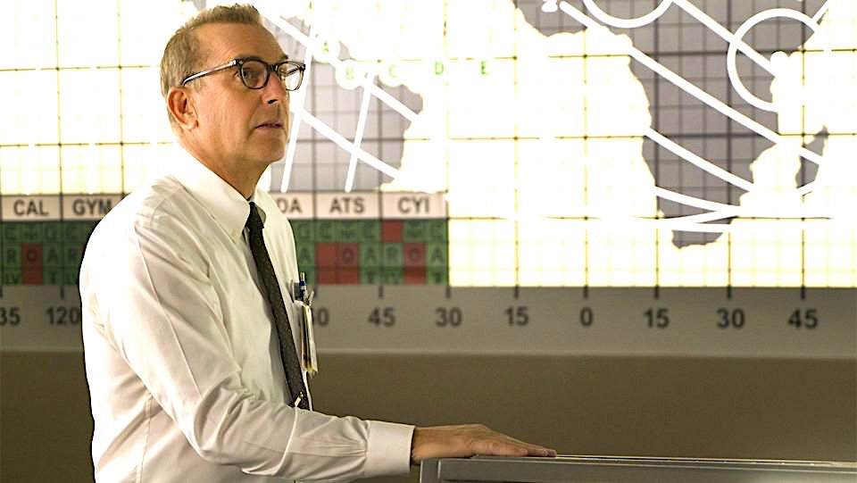 Al Harrison, o líder: interpretado por Kevin Costner