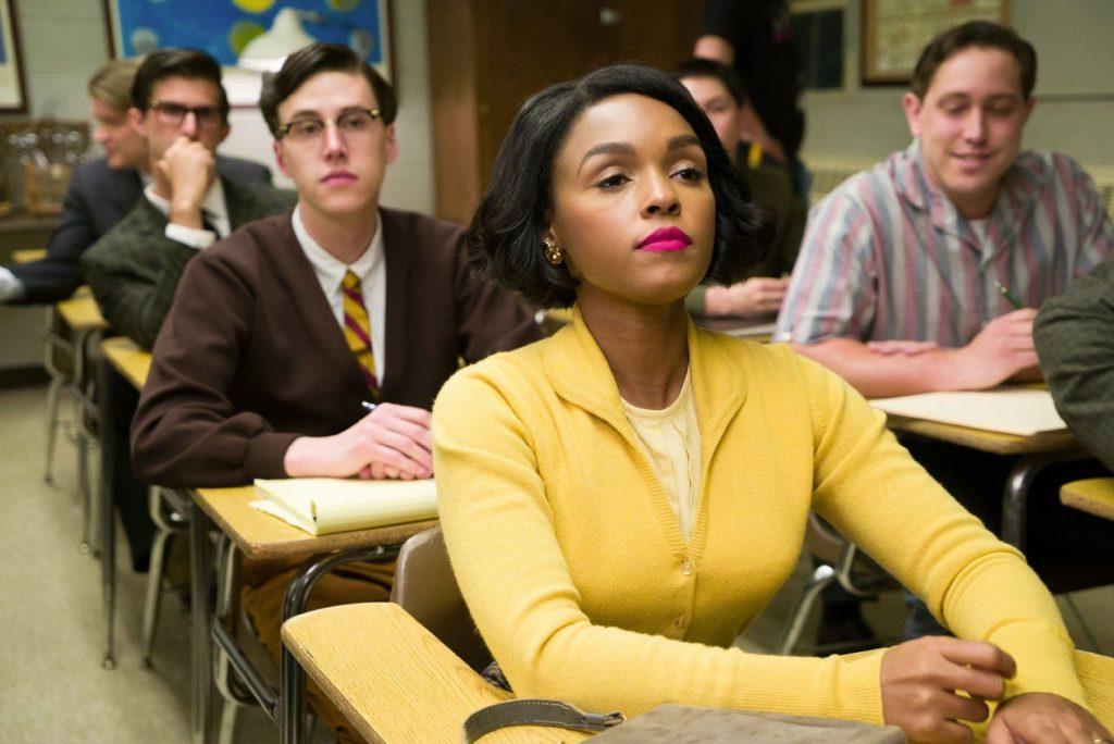 Mary Jackson interpretada por Janelle Monae, a primeira engenheira aeronáutica afro-americana. E estrela deste 2º vídeo.