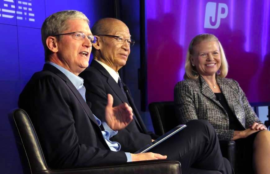 IBM e Apple com iPads para idosos