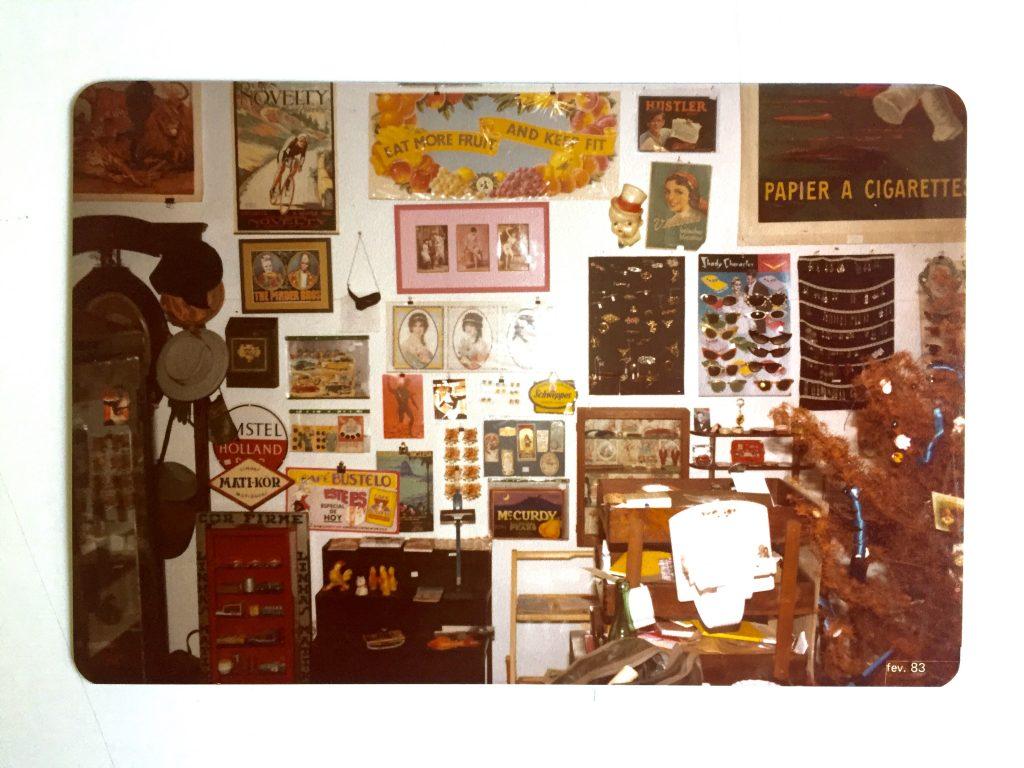 Uma das raras fotos que tenho da Naphtalina, 1983