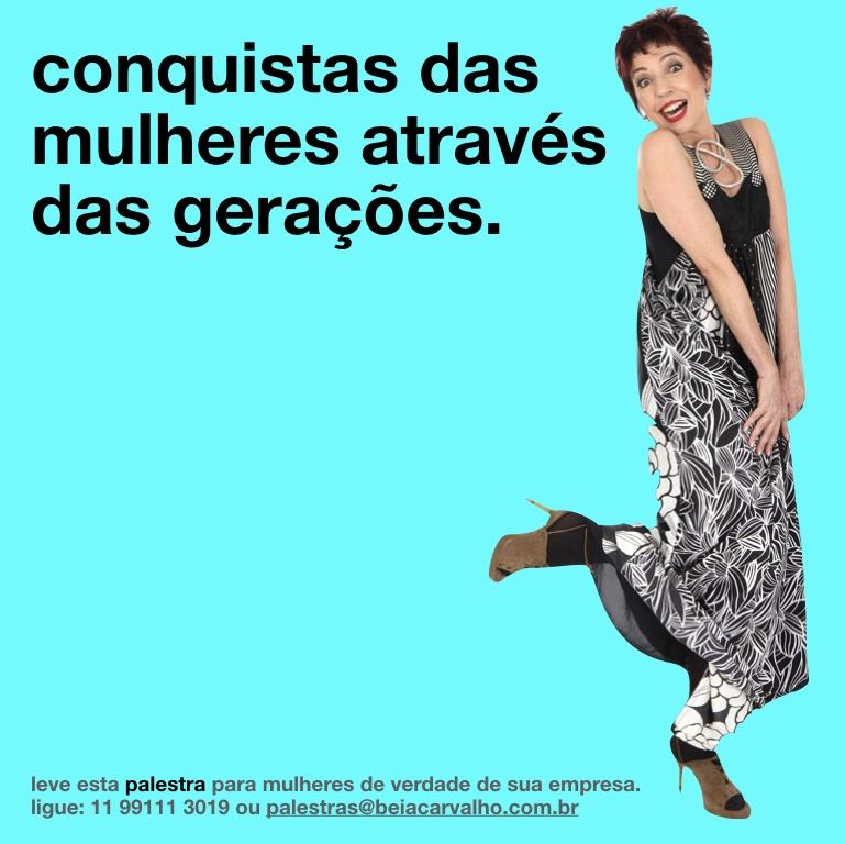 Palestrante Beia Carvalho é a sua Mulher para o Mês das Mulheres