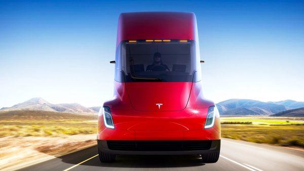 Caminhões Autônomos da Tesla, a partir de 2019.