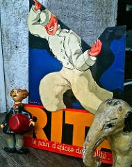 Vintage Rita Display 1930s