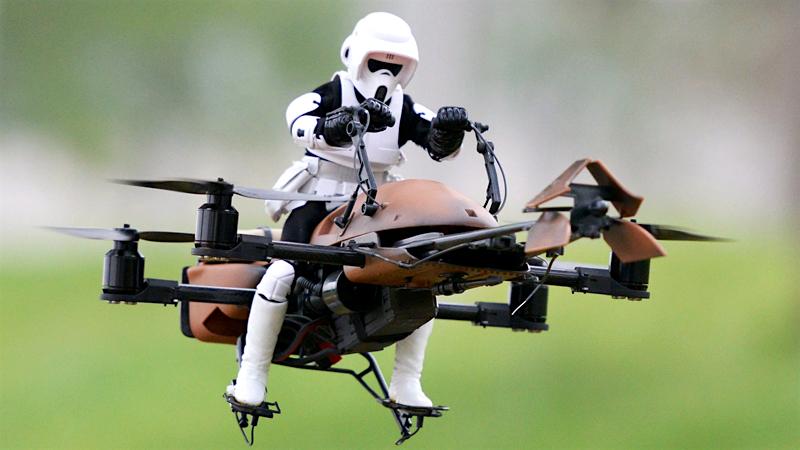 Piloto de Drone?
