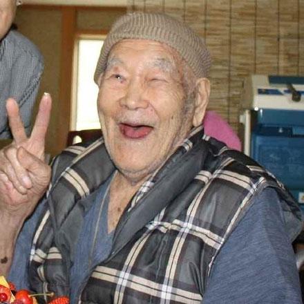 supercentenária japonesa Nabi Tajima é a pessoa mais velha do mundo com 117 anos e 192 dias, em fevereiro/2018