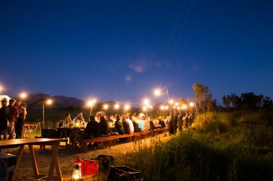 SulSolSal designed a special edition of Carne do Sol, a preserved food dining experience for Spier Secret 2014, Spier Secret Festival, Africa do Sul.