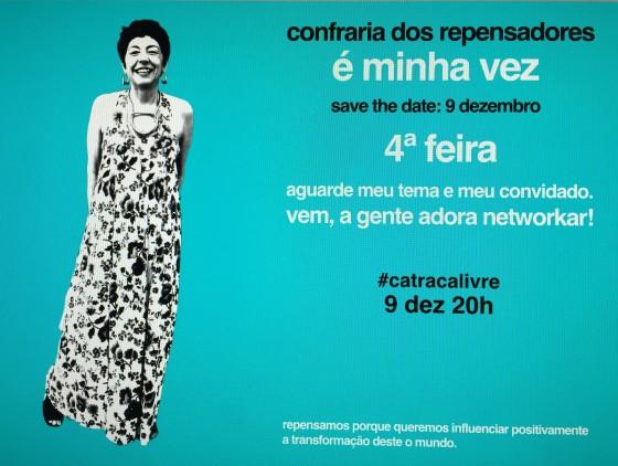 Beia Carvalho é a próxima repensadora a palestrar na Confraria dos Repensadores