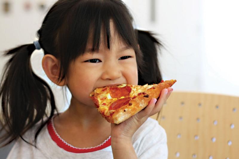 Crianças escolhem o que comer. Nunca dantes ...