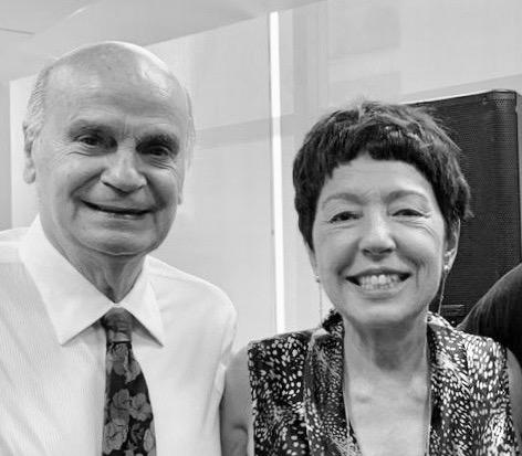 Dr Drauzio Varella e Beia Carvalho